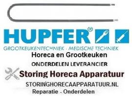 2900191010879 - Verwarmingselement 200W 230V L 400mm B 67mm HUPFER