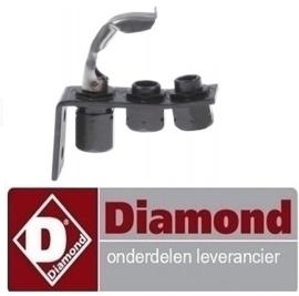 145RTCP800034 - Waakvlambrander bakplaat  DIAMOND G77/PL4T-N