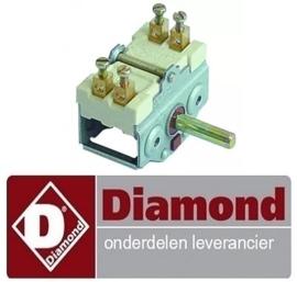 564RTCU700212 - Nokkenschakelaar 2 schakelstanden DIAMOND F14+14E/M