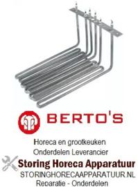 704418104 - Verwarmingselement 6000 Watt voor BERTOS friteuse