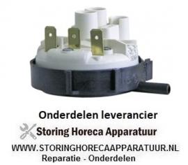 1205.410.39 - Pressostaat drukbereik 45/25mbar aansluiting 6mm ø 58mm vaatwasser Bonnet, Comenda, Hoonved, Mareno, Thirode