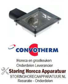 106359488 - Convotherm ovenlamp compleet inbouwmaat 55 x 70mm, 230V, 15W fitting E14 rechthoekig Convotherm