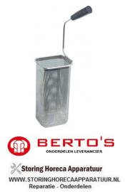 23231614900 - Pastakorf RVS voor serie 700 (oud model ) elektrische pastakoker BERTOS CPE40