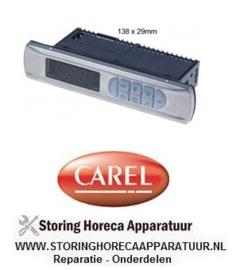225402160 - Elektronische regelaar CAREL PBIFY0EVD51 inbouwmaat 138x29mm inbouwdiepte 70,5mm 230V
