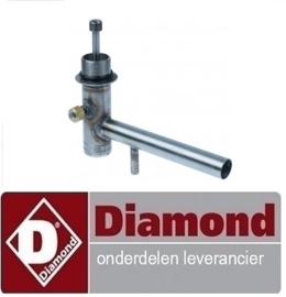 2480201804 - ROESTVRIJE AS MET STEUN SPOELARM DIAMOND