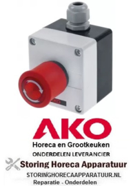693378485 - Schakelaar AKO type AKO-520622 wandversie 1NO/signaallamp voor koelcel