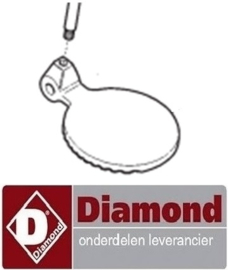 209IB1280800 - Deksel voor ijscrusher DIAMOND TRT-S