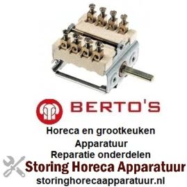 371300176 - Nokkenschakelaar 2 schakelstanden voor BERTOS