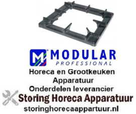 925210137 - Branderrooster B 400mm L 400mm passend voor serie 900 MODULAR