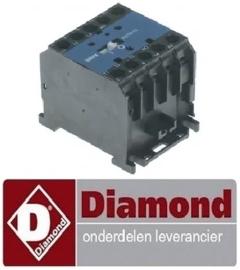 380EWG005 - Relais 20A - 230 Volt voor stoomgrill DIAMOND GCV/MX