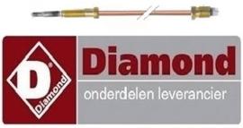 139RTCU700374 - Thermokoppel M9x1 L 500mm voor gasfornuis DIAMOND