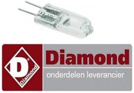 132A87IL72013 - HALOGEEN LAMP 500 graden- 12V-20W-G4 DIAMOND Logic Line