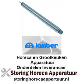 125517665 - Overlooppijp L 575mm ø 45mm RVS ID ø 33mm LAMBER