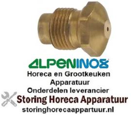 269100283 - Gasinspuiter draad M12x1 SB 14 boring ø 0,90mm ALPENINOX