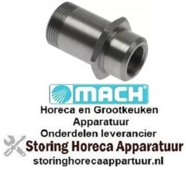 152503185 - Naspoelarmas totale lengte 36mm OD ø 18mm voor vaatwasser MACH