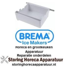 178694439 - Bak compleet voor ijsblokjesmaker L 227mm B 175mm H 100mm BREMA
