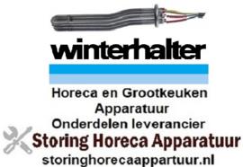 122420431 -Verwarmingselement 6000 Watt - 230 Volt voor boiler vaatwasser  WINTERHALTER