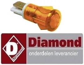 580A08003 - Signaallamp oranje voor bakplaat  DIAMOND FTE
