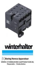 3803104154 - Relais AC1 20A - 230VAC (AC3-400V) 12A - 5,5kW WINTERHALTER