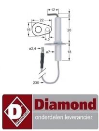 583.4.0.100.0075  - ONTSTEKINGSKAARS  DIAMOND BMG-1/1