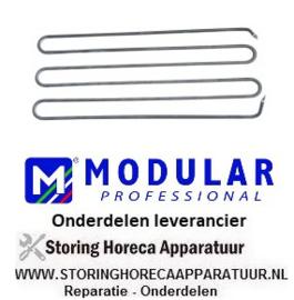 320.416540 - Verwarmingselement kantel braadpan 3330W 230V L 506mm B 200mm H 63mm droog verwarmingselement MODULAR