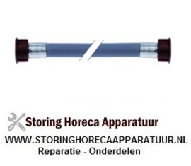 """524520630 - Toevoerwaterslang PVC recht-recht DN13 aansluitingen 3/4"""" L 1000mm werkdruk 10bar"""