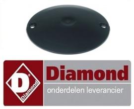 017F2152 - Sluitingschijf ABS 100 mm Combinatie vleesmolen n° 12 en parmesaanrasp  DIAMOND TG12