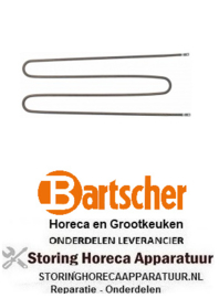 625417707 - Verwarmingselement 1300W 230V  voor BARTSCHER BAINMARIE