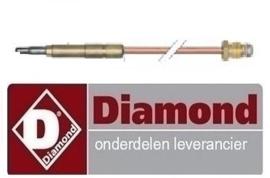 059G014 - Thermokoppel China Woktafel 600 mm - M9x1 DIAMOND CHINA