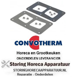 376692737 - Bevestigingsset passend voor voor heteluchtoven CONVOTHERM