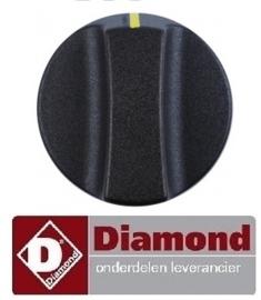 941A14078 - Knop schakelaar bakplaat  DIAMOND FTE-40/SS
