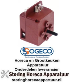 112350197 - Tijdschakelaar MI1 zonder bel looptijd 120min 1CO/1NO bij 250V 16A vaste positie ja SOGECO
