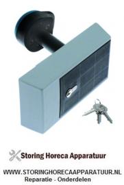 289700574 - Koelcelsluiting deurdikte 100mm type 921HP L 245mm B 108mm H 52,5mm afsluitbaar H1 220mm