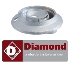 0706.72.077.00 - Branderkop voor branderdeksel 5,5 kW DIAMOND G11/6BA12