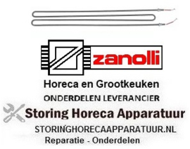 744418113 - Verwarmingselement 1000 Watt - 230 Volt ZANOLLI