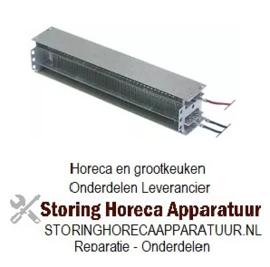 057415122 - Dwarsstroomventilator verwarmingblok 2000W 230V