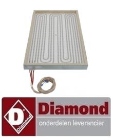 234617839H00 - Stralingselement rechthoekig 4200W Diamond E17/PLCD4T(230/3)-N