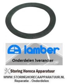 145506043 - Vlakpakking rubber voor afvoerventiel LAMBER 050F