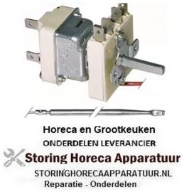353390052 - Thermostaat t.max. 185°C instelbereik 90-185°C 1-polig 1NO 15A voeler ø 4mm voeler L 229mm