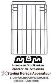 149970707 - Draadrooster B 325mm L 675mm H 55mm staal verchroomd voor oven MBM