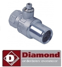 "776.678.001.00 - Uitloopkraan 3/4"" DIAMOND E65"