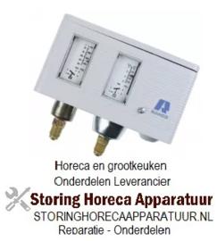 176541126 - Ranco pressostaat type O17-H4703 drukaansluiting verticaal ND/HD koeltechniek