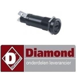0510F0031 - Zekeringhouder passende zekering ø5x20mm ø 14,5mm draad M16x1 1-polig 10A maximale spanning 500V DIAMOND