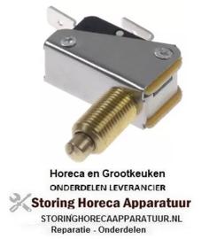 103347341 - Microschakelaar met drukstift pen bediend 250V 21A