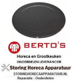 401104286 - Branderdeksel 3kW ø 90mm BERTOS