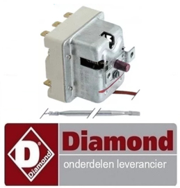 312.661.048.00 - Maximaalthermostaat uitschakeltemp. 245°C - DIAMOND E65/F20-7T