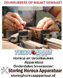 678900655 - Koelladen deurrubber met magneet 385 x 205 mm 4 zijden op maatgemaakt voor TECNODOM