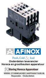 26374700506 - Relais AC1 32A 230VAC (AC3/400V) 17A/7,5kW hoofdcontact 4NO AFINOX