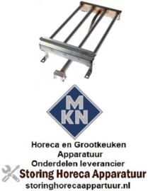 183105925 - Staafbrander 4-rijen voor apparatuur MKN