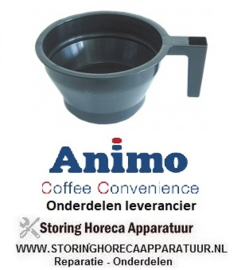0760.86.35 - Filterpan kunststof koffiemachine ANIMO A100W